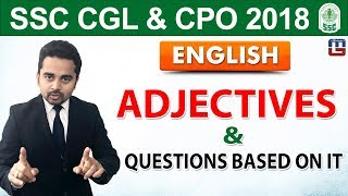 Download Adjective & Questions Based on It | English | SSC CGL | CPO 2018 | 5:00 pm Video