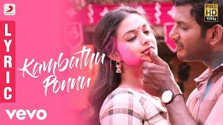 Download Sandakozhi 2 - Kambathu Ponnu Tamil Lyric   Vishal   Yuvanshankar Raja, N Lingusamy Video