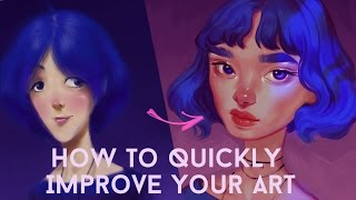 Download HOW TO QUICKLY IMPROVE YOUR ART Video