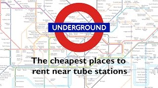 Download The cheapest places to rent near tube stations Video