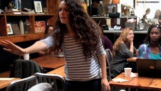 Download 'Carrie' prank girl reveals all! Video