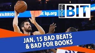 Download Bad Beats & Bad for Books Recap | Sports BIT | Tuesday, Jan. 16 Video