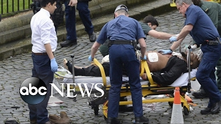 Download Authorities in London launch a full terror investigation of Parliament attack Video