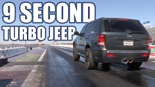 Download 9 Second Turbo Jeep Grand Cherokee - 1100hp Video