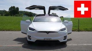 Download Tesla Model X Schweiz Roadtrip Video