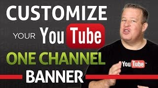 Download How to Customize Your YouTube One Channel Banner 2013 - Free Templates Video