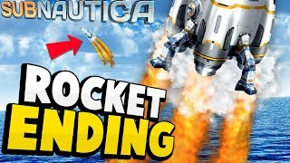 Download THE END OF SUBNAUTICA! Neptune Rocket Crafting & Ending Explained - Subnautica Update Video
