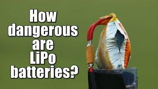 Download How dangerous are LiPo batteries? || Overcharge, Overdischarge, Short Circuit Video