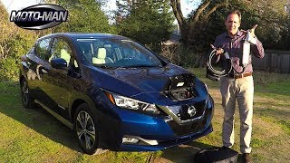 Download 2018 Nissan LEAF EV TECH REVIEW (1 of 3) Video