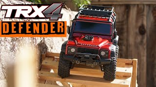 Download Unboxing the TRX4 Defender Traxxas | RC Obstacle Trail Video