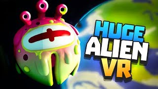 Download SPACE ALIEN ATTACKS EARTH! - Rick and Morty: Virtual Rick-ality VR - VR HTC Vive Pro Gameplay Video