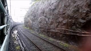 Download Amazing train journey in the monsoon I LTT - VSKP Express from Khandala Ghat Video