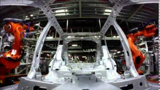Download Jaguar Land Rover Manufacturing at Solihull - Timelapse   AutoMotoTV Video