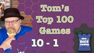Download Top 100 Games from Tom Vasel (#10 - #1) Video