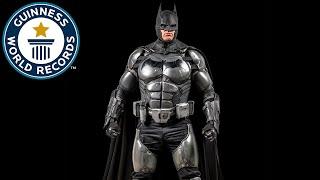 Download Batman Cosplay Breaks World Record - Meet the Record Breakers Video