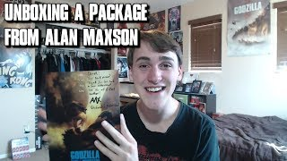 Download Unboxing *Not A Birthday Present* From Alan Maxson (King Ghidorah) Video
