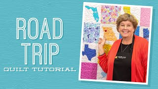 Download Make a ″Road Trip″ Map Applique Quilt with Jenny Doan of Missouri Star (Video Tutorial) Video
