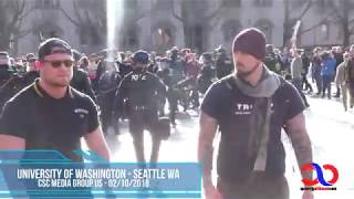 Download AntiFa Attack Proud Boys At University Of Washington Free Speech Rally And Lose Yet Again Video