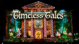 Download Timeless Tales - Building Projection for LUMA Festival Binghamton by Maxin10sity Video