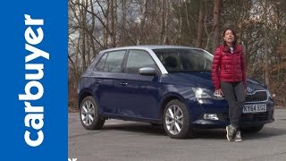 Download Skoda Fabia hatchback review - Carbuyer Video