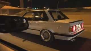 Download 67mm 550hp Mustang vs. 62mm 500hp BMW E30 Video