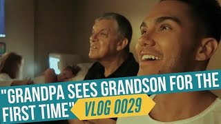 Download GRANDPA SEES GRANDSON FOR THE FIRST TIME Video