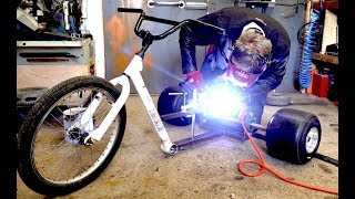 Download Making a 20,000 WATT Electric Drift Trike Video
