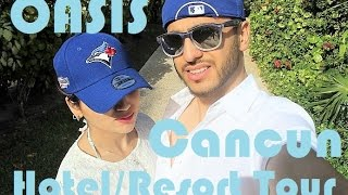 Download Travel Vlog | Cancun Resort and Hotel Tour - Grand Oasis | Fictionally Flawless Video