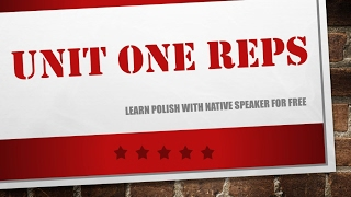 Download Learn Polish - Unit 1 - Repetitions 40 min of Polish phrases - polish for beginners Video