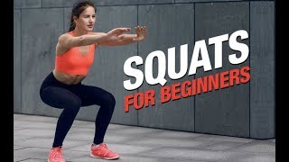 Download How To Do SQUATS FOR BEGINNERS | Correct Form & Mechanics | STEP BY STEP GUIDE Video