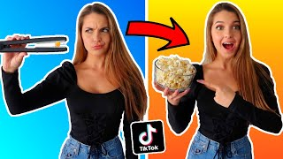 Download TESTING VIRAL TIK TOK LIFE HACKS!! (CAN'T BELIEVE THIS WORKED) Video