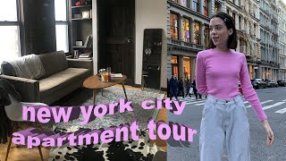 Download WHAT $4400 WILL GET YOU IN NYC   New York City Apartment Tour (college student) Video