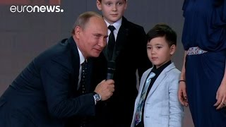 Download 'The borders of Russia do not end' says Putin at awards ceremony Video