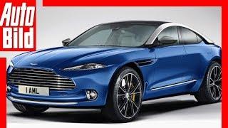 Download Zukunftsaussicht: Aston Martin DBX (2019) Details / Erklärung Video