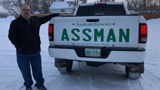 Download ASSMAN Denied vanity plate, gets cheeky with the Govt! Video
