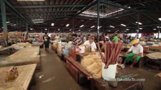 Download Apia Fresh Produce Markets, Samoa (1080HD) Video