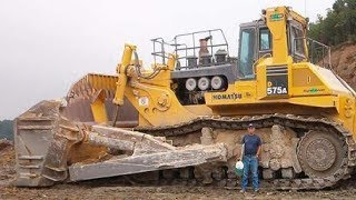 Download 5 Extreme Dangerous Biggest Bulldozer Operator - World Amazing Modern Heavy Equipment Machines Video