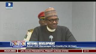 Download Buhari Blasts Elites For Nigeria's Challenges Video