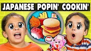 Download KIDS MAKE JAPANESE CANDY (Popin' Cookin') | Kids Vs. Food Video