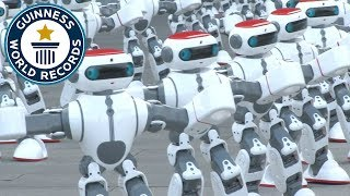 Download Massive robot dance - Guinness World Records Video