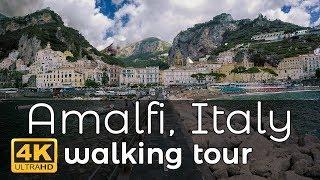 Download Amalfi, Italy Walking Tour in 4K Video