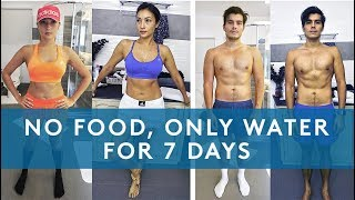 Download 7 DAY WATER FAST RESULTS (NO EATING FOR A WEEK) Video