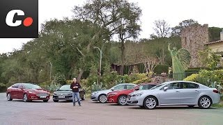 Download Volkswagen Passat, Ford Mondeo, Mazda6, Peugeot 508, Opel Insignia   Prueba Berlinas   coches Video