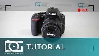 Download NIKON D5500 TUTORIAL | Can I Shoot Video While Using the View Finder? Video