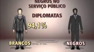 Download Desigualdade entre brancos e negros se estende ao serviço público - Video