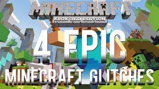 Download Minecraft Glitches: 4 EPIC Glitches on Minecraft Xbox 360 Edition (Voice Tutorial) Video