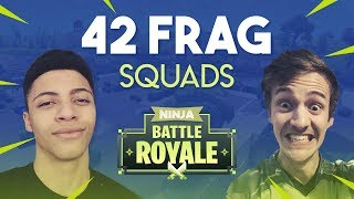 Download Ninja & Myth 42 Frag Squad Gameplay - Fortnite Battle Royale Gameplay Video