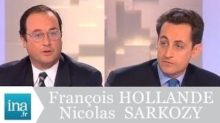 Download Débat Francois Hollande et Nicolas Sarkozy (Mots croisés 1998) - Archive vidéo INA Video