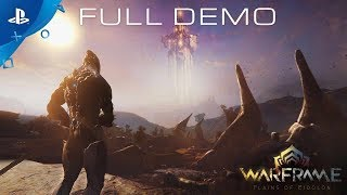 Download Warframe - Plains of Eidolon Gameplay Demo | PS4 Video