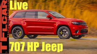Download Live from Moab, Utah: 707 HP Jeep Trackhawk Reveal and Detailed Walk Around Video